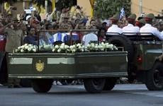 Cuba tổ chức lễ an táng lãnh tụ cách mạng Fidel Castro Ruz