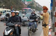 Hà Nội phân luồng giao thông cho hội nghị quan chức cao cấp APEC