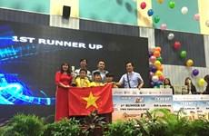Học sinh Đà Nẵng giành 2 chức vô địch Robothon quốc tế
