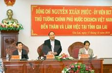 Thủ tướng Nguyễn Xuân Phúc thăm và làm việc với tỉnh Gia Lai
