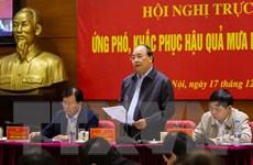 Thủ tướng: Tuyệt đối không để người dân các vùng mưa lũ bị đói, rét