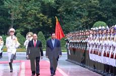 Báo chí Campuchia ca ngợi mối quan hệ hữu nghị với Việt Nam