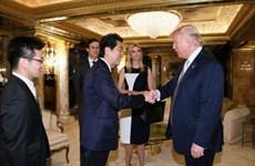 Mỹ và Nhật Bản xúc tiến cuộc gặp Trump-Abe sau lễ nhậm chức