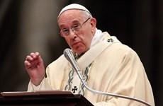 Giáo hoàng Francis bày tỏ quan ngại với tương lai của châu Âu