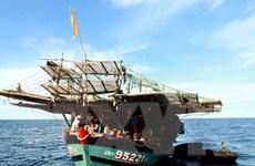 Ngư dân Phú Yên cứu 2 ngư dân Philippines bị nạn trên biển