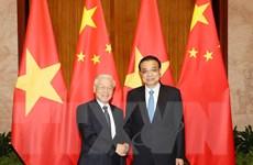 Tổng Bí thư hội kiến Thủ tướng, Ủy viên trưởng Nhân đại Trung Quốc