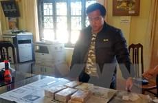 Lai Châu: Bắt giữ đối tượng vận chuyển trái phép 10 bánh heroin