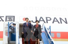 Thủ tướng Abe và Phu nhân kết thúc tốt đẹp chuyến thăm Việt Nam