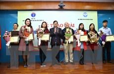 VietnamPlus đoạt giải Nhì cuộc thi phòng chống tác hại thuốc lá