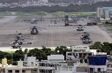 Máy bay trực thăng Mỹ hạ cánh khẩn cấp xuống Nhật Bản