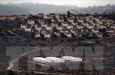 Israel tiếp tục xây dựng thêm hàng nghìn nhà định cư mới ở Bờ Tây