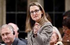 Ngoại trưởng Canada gửi thông điệp cứng rắn về thương mại tới Mỹ