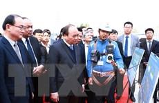 Thủ tướng thăm dự án mở rộng của Tổ hợp Samsung ở Bắc Ninh