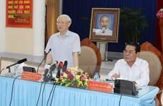 Tổng Bí thư: Cà Mau tập trung phát triển kinh tế biển, kinh tế rừng