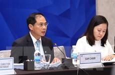 Các Ủy ban APEC trong hội nghị SOM 1 họp phiên toàn thể