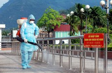 Hà Giang quyết liệt ngăn chặn dịch cúm H7N9 đi qua cửa khẩu Thanh Thủy