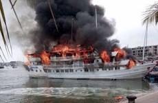 Quảng Ninh mời Bộ Công an vào cuộc điều tra vụ cháy tàu du lịch