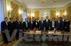 Bộ trưởng Bộ Công an Tô Lâm thăm và làm việc tại Slovakia