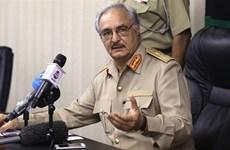 Quân đội Quốc gia Libya iành lại quyền kiểm soát 2 mỏ dầu Đông Bắc