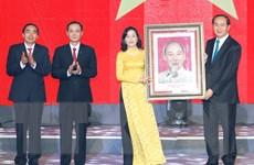 Chủ tịch nước Trần Đại Quang dự kỷ niệm 25 năm tái lập tỉnh Ninh Bình