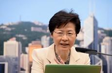Chân dung nữ Trưởng Đặc khu đầu tiên của Hong Kong kể từ năm 1997