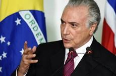 Tổng thống Brazil Michel Temer đối mặt với nguy cơ bị phế truất