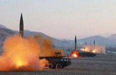 Hàn Quốc: Triều Tiên phóng vật thể nghi tên lửa xuống Biển Nhật Bản