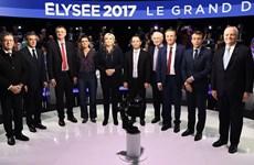 Bầu cử Pháp: 11 ứng cử viên tranh luận trực tiếp trên truyền hình