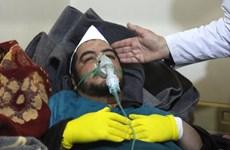 Pháp: Vụ tấn công hóa học ở Syria là phép thử với lập trường của Mỹ