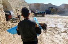Thổ Nhĩ Kỳ: Có bằng chứng vũ khí hóa học dùng trong tấn công ở Syria