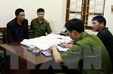 Bắt giữ đối tượng mang 11kg ma túy tổng hợp từ Trung Quốc vào Việt Nam