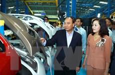 Thủ tướng thăm Huyndai Thành Công, nhấn mạnh tăng cường nội địa hóa