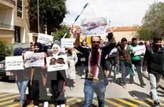 Phản đối Mỹ tấn công, người Syria tuyên bố sẵn sàng hy sinh vì tổ quốc