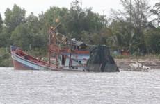 Báo cáo của tỉnh Bạc Liêu về vụ chìm tàu trên sông Gành Hào