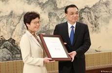 Bà Lâm Trịnh Nguyệt Nga nhận bổ nhiệm trưởng đặc khu Hong Kong