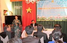 Chủ tịch Quốc hội Nguyễn Thị Kim Ngân thăm Đại sứ quán Việt Nam ở Séc