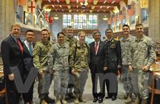 Đại sứ Việt Nam thăm làm việc tại Học viện Quân sự Hoa Kỳ West Point