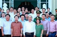 Thủ tướng Nguyễn Xuân Phúc làm việc với nhà đầu tư tại Phú Quốc