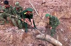 Phát hiện quả bom nặng hơn 240kg tại Hướng Hóa của Quảng Trị