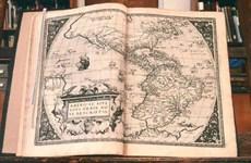 Thư viện Mỹ trả tập Atlas hiện đại đầu tiên trên thế giới cho Cuba