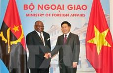Việt Nam coi trọng củng cố và phát triển quan hệ với Angola