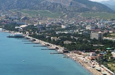 Ukraine xây đập lớn, chặn nguồn cung cấp nước cho Crimea