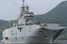 Anh, Pháp, Nhật, Mỹ rầm rộ diễn tập hải quân gần Biển Đông