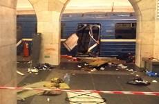 3 nghi phạm đánh bom tàu điện ngầm St.Petersburg bị buộc tội khủng bố