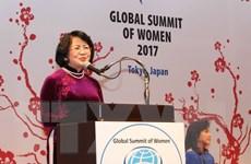 Phát biểu của Phó Chủ tịch nước tại khai mạc hội nghị phụ nữ toàn cầu