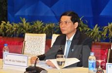 Thứ trưởng Bùi Thanh Sơn: APEC thúc đẩy hợp tác, liên kết đa tầng