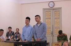 Phạt tù hai đối tượng cuối cùng trong vụ chém người ở Hồ Tây