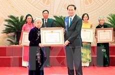 Trao tặng giải thưởng Hồ Chí Minh về văn học, nghệ thuật