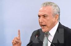 Sức ép đòi Tổng thống Brazil Temer từ chức gia tăng