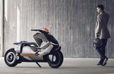 BMW tiếp tục ra mẫu concept tay ga chạy điện mê hoặc giới yêu xe